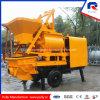 Pully Manufacture Concrete Mixer Machine with Pump Price in Indonesia (JBT40-L17)