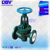 Industrial Fluorine Lined Seated Globe Valve with Ce Approval