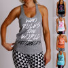 Womens Gym Yoga Sports Racerback Tank Top/Singlet/Vest (A848)