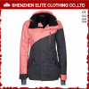 Pink and Grey Fashion Winter Ski Jacket for Girls (ELTSNBJI-51)