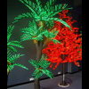 Christmas Door Decorations Street Decorative LED Palm Tree Light