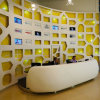 Modern Office Customized Solid Surface Reception Desk