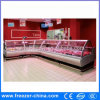 Xuzhou Used Supermarket Butchery Shop Meat Display Refrigerator