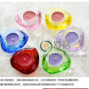 Heart Shape Multi Color Crystal Candle Holder for Wedding