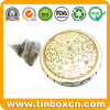 Tea Tin Box with Food Grade for Tea Can Packaging