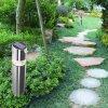 Outdoor Stainless Steel Solar Powered Garden Lawn Light