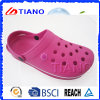 New Simple Colour EVA Woman Clogs with Round Edge (TNK40082)