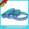 Epoxy Plate Silicone Rubber Wristband with Thb-060