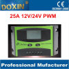25A Charging current Solar Controller PWM Solar Charge Controller for Power System 12V/24V