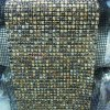 Multicolor 24 Row Bling Rhinestone Mesh