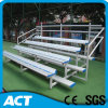 Outdoor Mobile Gym Bleacher with Aluminum Seat Board / Indoor Gym Bleachers