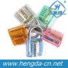 Colorful Transparent Cutaway Inside View Practice Padlocks Lock with 2keys (YH9248)