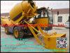Famous Brand Hongyuan Hy350 China Reliable Quality Hongyuan Self-Loading Concrete Cement Mixer, 4X4 Mini Concrete Mixer
