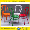 Color Powder Coating Stackable Metal Chair