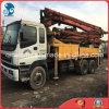 37m 2003~2009 8*4-LHD-Drive Used Concrete Isuzu-Chassis Putzmeister Pump Truck (26TON, 8*4-LHD-DRIVE)