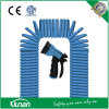 50′ Flexible Expanding EVA Coil Hose with 7-Function Spraying Nozzle