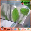 LDPE Core Material Flexible Plastic Silver Mirror Aluminum Composite Panels