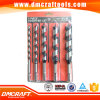 5 PC Blister Paper Card Packed Wood Auger Drill Bits