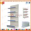 Customized Steel Iron Shelving Supermarket Flat Back Panel Wall Shelves (Zhs584)
