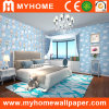 Blue Sky Cartoon Wall Paper with Clound and Ballute