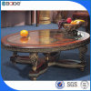 2013 Antique Wood Carved End Table E-1800#