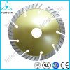 Segmented Turbo Diamond Saw Blade for Cutting Granite