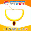 OEM Teething Jewelry Silicone Rubber Necklace Silicone Necklace with Diamond