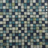 Blue Color Various Use Swimming Pool Glass Mosaic Blend