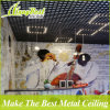 100*100 Artistic Colored Aluminium Open Cell Ceiling for Stores