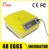 CE Approved Fully Automatic Mini 48 Eggs Incubator in China