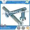 Slot Flat Head Machine Screw Steel Zinc