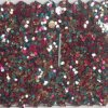 High Quality Glitter PU Leather for Wall Paper Hw-1420