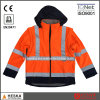 Detachable Sleeves Hi-Vis 3m Safety Jacket