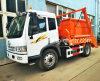 FAW Skip Loading Garbage Truck, Skip loader truck