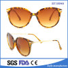 Demi Color Female Cat Eye Sunglasses with UV400 Lens