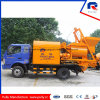Truck Mounted Concrete Mixer Pump with Two Bin Batching System