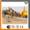 Hopper Lift Type 80t/H Mini Mobile Batching Plant