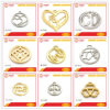 OEM Excellent Stylish Zinc Alloy Buckle Handbag Ornaments Metal Logo