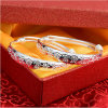 Baby Silver Bracelet S990 Full Silver Round Bracelet for Both Men and Women