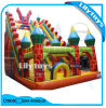 Inflatable Slide and Castle, Obstacle Bouncer Slide for Kids on Sale