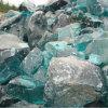Blue Decorative Glass Rock