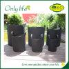 Onlylife Felt Outdoor Vegetable Garden Recycling Planter Grow Bag