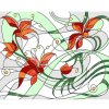 DIY Customized Pictures Abstact Stained Glass Mosaic Mural