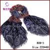 Beautiful Polyester Jacquard Scarf (B39-3)