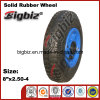 2.50-4 Inch Solid Small Rubber Trolly Wheel