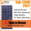 170W Poly Solar Modules for Portable Solar System