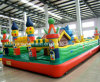 New Inflatables Castle Blue Cat Paradise Bouncy for Inflatable Games