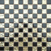 Golden Black Mirror Glass Mosaic Wall Tile (HM029)