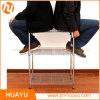 Heavy Duty 3-Tier Display Home Storage Chrome Steel Wire Rack Wire Shelf