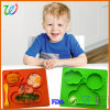 Nonstick High Capacity Sun and Clouds Type Silicone Kid Placemat Tray